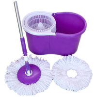 Purple and White Mop Dealsnbuy