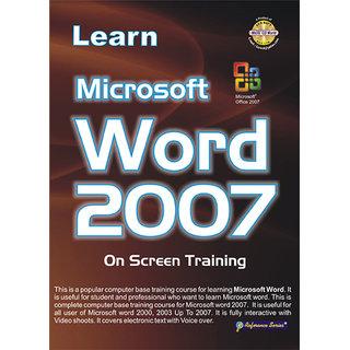 Learn Microsoft Word 2007 (English)