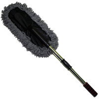 Auto Hub Microfibre Duster with Telescopic Handle for All Vehicle Cleaning
