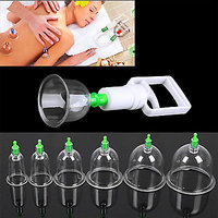 Details about  12 pc/Set  Medical Vacuum Cupping with Suction Pump Suction Ther