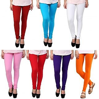 Stylobby Womens Leggings Pack Of 7