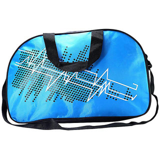 Blue Fabric Duffel Bag (No Wheels)