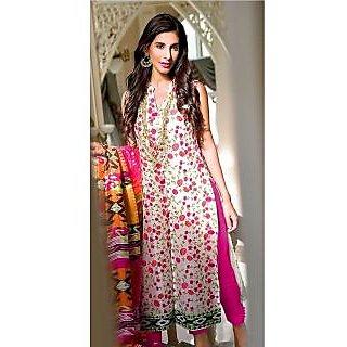 Fabfiza Multi Cotton Printed Salwar Suit