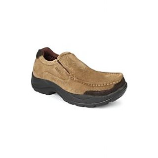 Liberty MenS Tan Casual Slip On Shoes