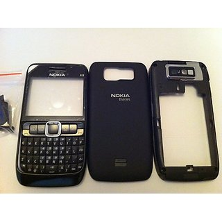 Full Body Housing Panel Nokia E63- Black