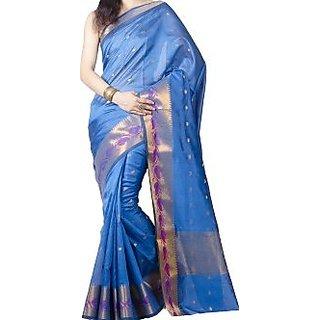 Woven Banarasi Art Silk Sari
