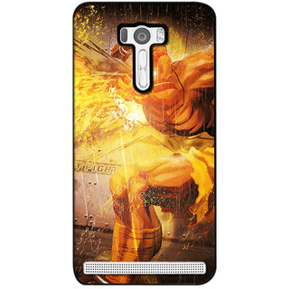 instyler DIGITAL PRINTED BACK COVER FOR ASUS SELFIE