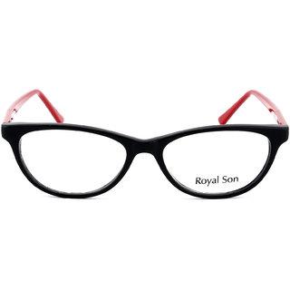 Royal Son Full Rim Cat eye Women Spectacle Frame ( RS0031FM  52  Transparent )