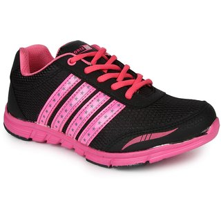Liberty Women's Black Sports Shoes