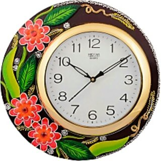 flower designer clock