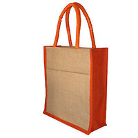 Trendy JUTE BAGS / GIFT / SHOPPING / LUNCH BAGS (SET OF