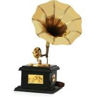 Showpiece Brass Gramophone Handmade Indian Handicraft
