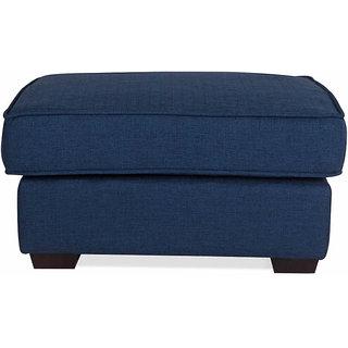 Oritz Blue Color Ottoman
