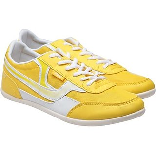 Jage formal Yellow  white shoe for men