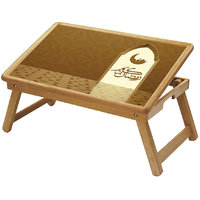 Ramadan Multipurpose Foldable Wooden Study Table Cum Bed Table - Study RM7