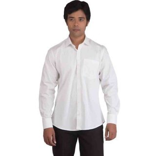 BearBerry-Mens White Shirt