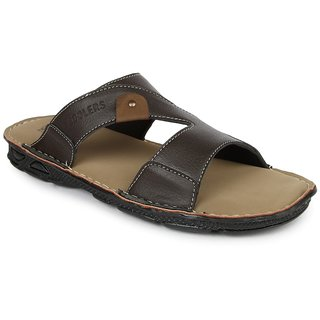 Liberty MenS Brown Casual Slippers