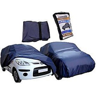 JMJW AND SONS - Waterproof Parachute Blue Car Body Cover for Valkswagen Polo