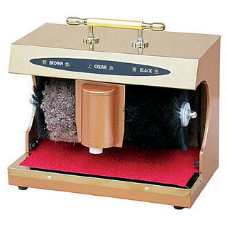 Auto Shoe Shine Machine with sole cleaner