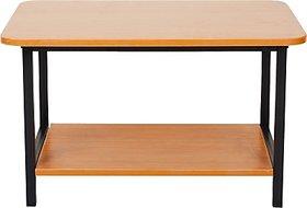 FurnitureKraft Engineered Wood Coffee Table Finish Color   Black