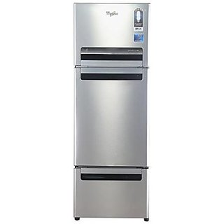 Whirlpool Fp 263D Royal Frost-free Double-door Refrigerator (240 Ltrs, Alpha Steel)