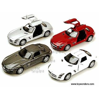 Buy Mercedes Benz Sls Amg Scale 136 Diecast Metal Pull Back Action