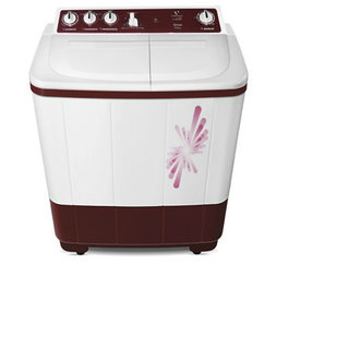 Videocon 7 Kg. VS70L11 Semi Auto Washing Machine Maroon