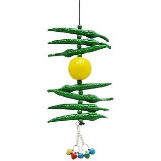 Green chilli and Lemon door Hanging to protect Evil Eye Warder