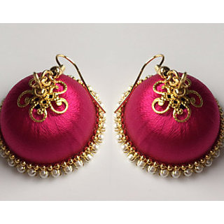 Riyaa Fashions Orange Earings