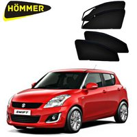 HOMMER UV Magnetic Sunshade Car Curtain with Zipper for Maruti Swift Old