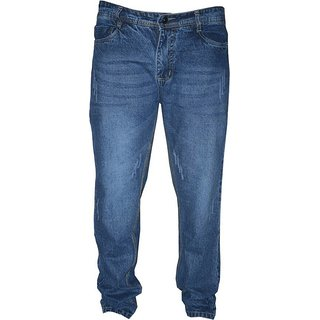 sathani mens casual jeans blue  in color
