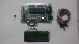 Mini project kit using Temperature Sensor LM35
