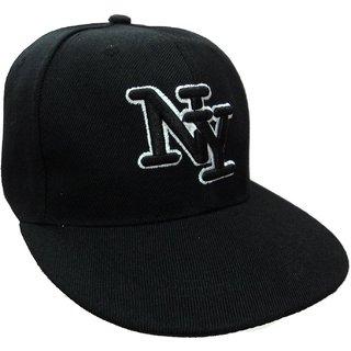KRISHNAPRIYA STORE NY Black Premium Cotton Hat Cap / Baseball Cap / Snapback Cap /Hiphop Cap