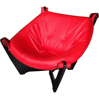 Relax Chair Red Colour PVC