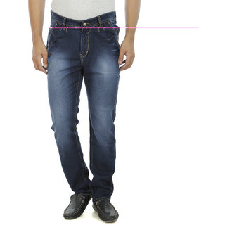 Aliens Valley Blue Regular Fit Jeans
