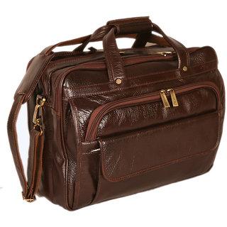 224649410c 100% GENUINE INDIAN Leather new Executive Bag Office Messenger Laptop Bag  BR JR82