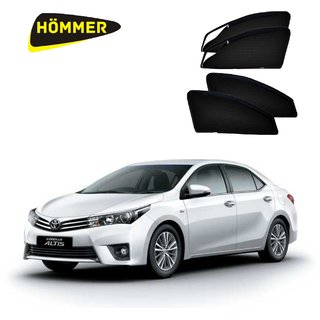 HOMMER UV Magnetic Sunshade Car Curtain with Zipper for Toyota Corolla Altis New