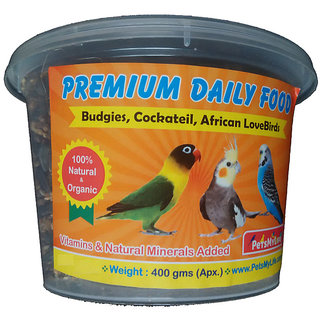 Bird Food - Vitamins and Natural Minerals for Breeding