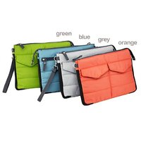 Urban Living Gadget Pouch Multi-Functional Storage Organizer Hand Bag Travel Storage (ASSORTED COLOR WILL BE SEND)