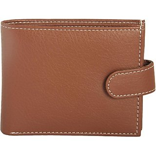 Men Casual, Formal Brown Artificial Leather Wallet