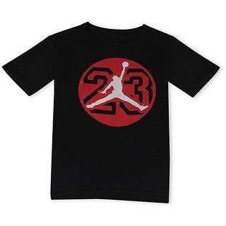 Black Color T-Shirt For Boys