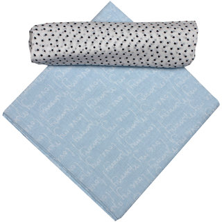 Apricot Kids Blue Baby Wraps For Baby Girls