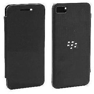 Leather Flip Cover Case For BlackBerry Z10 / BB10