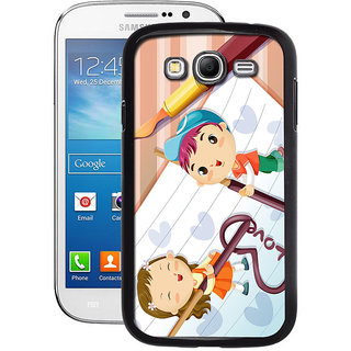 Instyler Digital Printed Back Cover For Samsung Galaxy A5 SGA5DS-10429