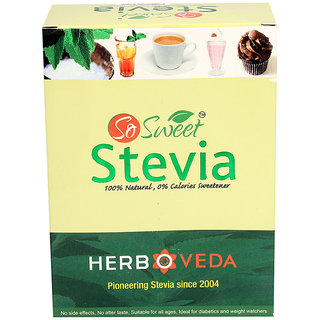 So Sweet 200 Stevia Sachets 100% Natural Sweetener- Sugarfree