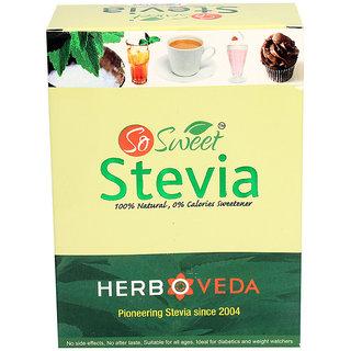 So Sweet 1000 Stevia Sachets 100% Natural Sweetener- Sugarfree