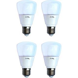 JaiLux LED ECO2 3W , E27Base , Pack of 4, White