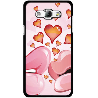 Instyler Digital Printed Back Cover For Samsung Galaxy A8 SGA8DS-10413