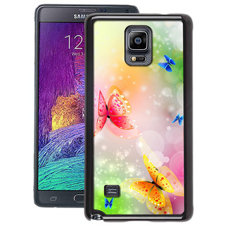 Instyler Digital Printed Back Cover For Samsung Galaxy Note 4 SGN4DS-10342