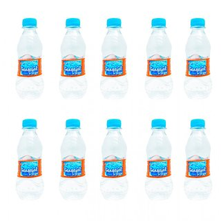Gangajal Holy Water 250 ml Bottle From Gangotri Valley Combo Pack Of 10 Bottle